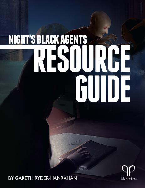 Night's Black Agents RPG: Director's Screen & Resource Guide