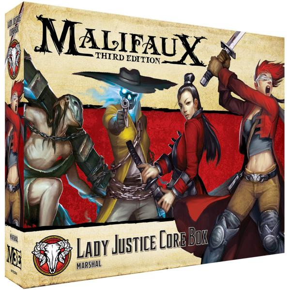 Malifaux (M3E): Lady Justice Core Box