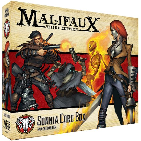 Malifaux (M3E): Sonnia Core Box