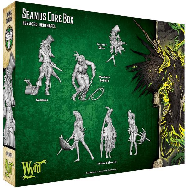 Malifaux (M3E): Seamus Core Box