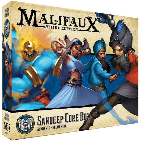 Malifaux (M3E): Arcanists - Sandeep Core Box