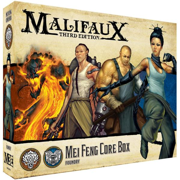 Malifaux (M3E): Mei Feng Core Box