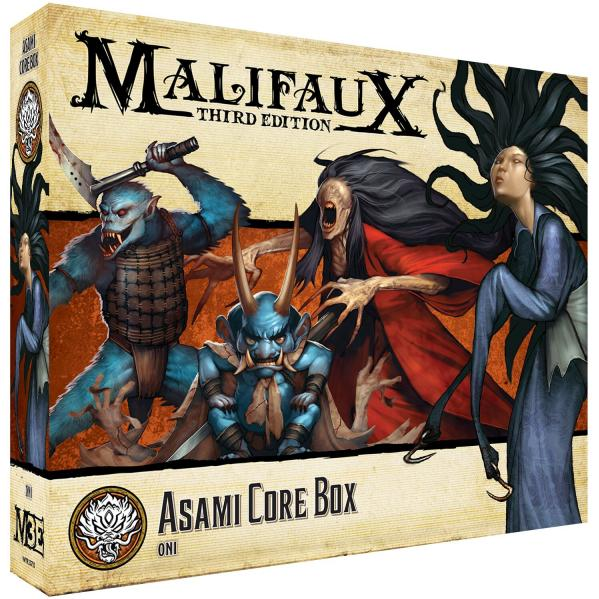 Malifaux (M3E): Asami Core Box