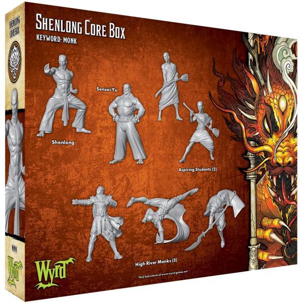 Malifaux (M3E): Shenlong Core Box