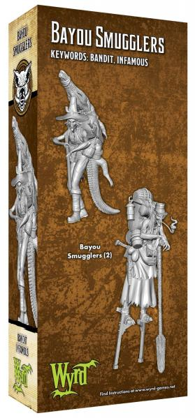 Malifaux (M3E): Bayou Smuggler