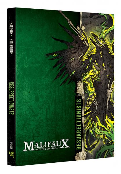 Malifaux (M3E): Resurrectionist Faction Book