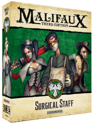 Malifaux (M3E): Resurrectionists - Surgical Staff
