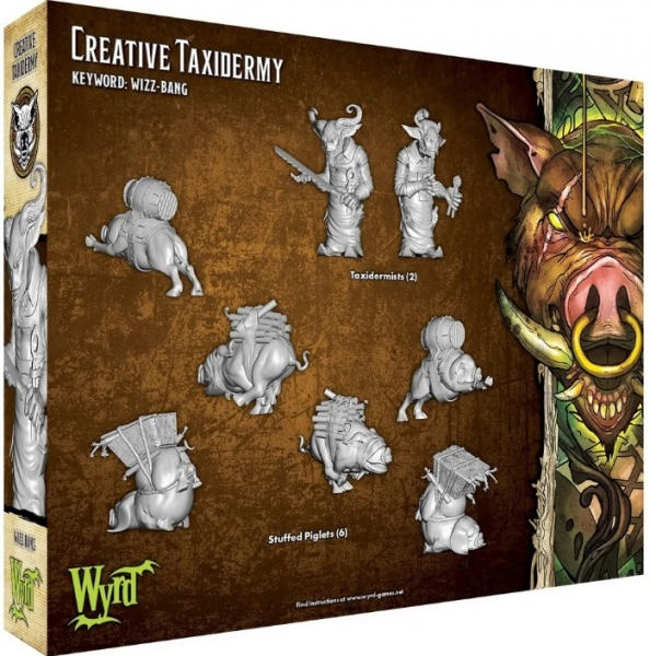 Malifaux (M3E): Creative Taxidermy