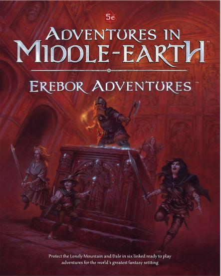 Dungeons & Dragons RPG: Adventures In Middle-Earth Erebor Adventures