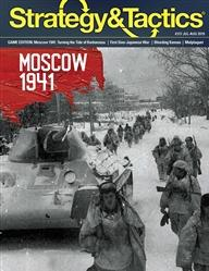 Strategy & Tactics Magazine #317: Moscow