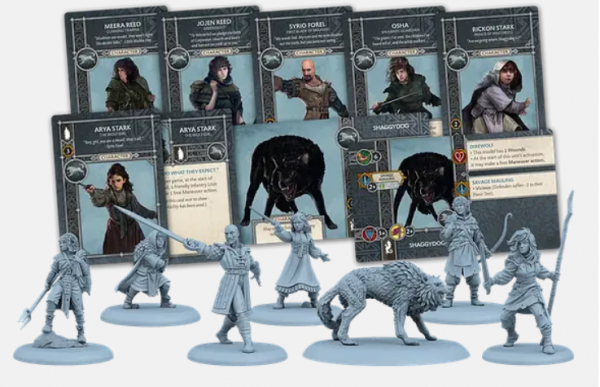 A Song of Ice & Fire: Tabletop Miniatures Game: Stark Heroes #2