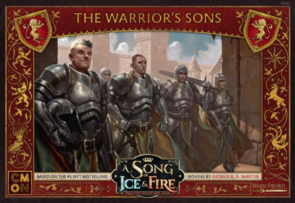 A Song of Ice & Fire: Tabletop Miniatures Game: Lannister The Warrior's Sons Unit Box