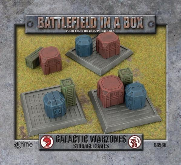 Galactic Warzones: Storage Crates
