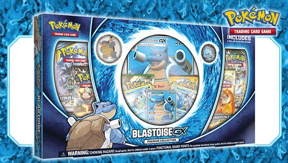 Pokemon CCG: Blastoise-GX Premium Collection
