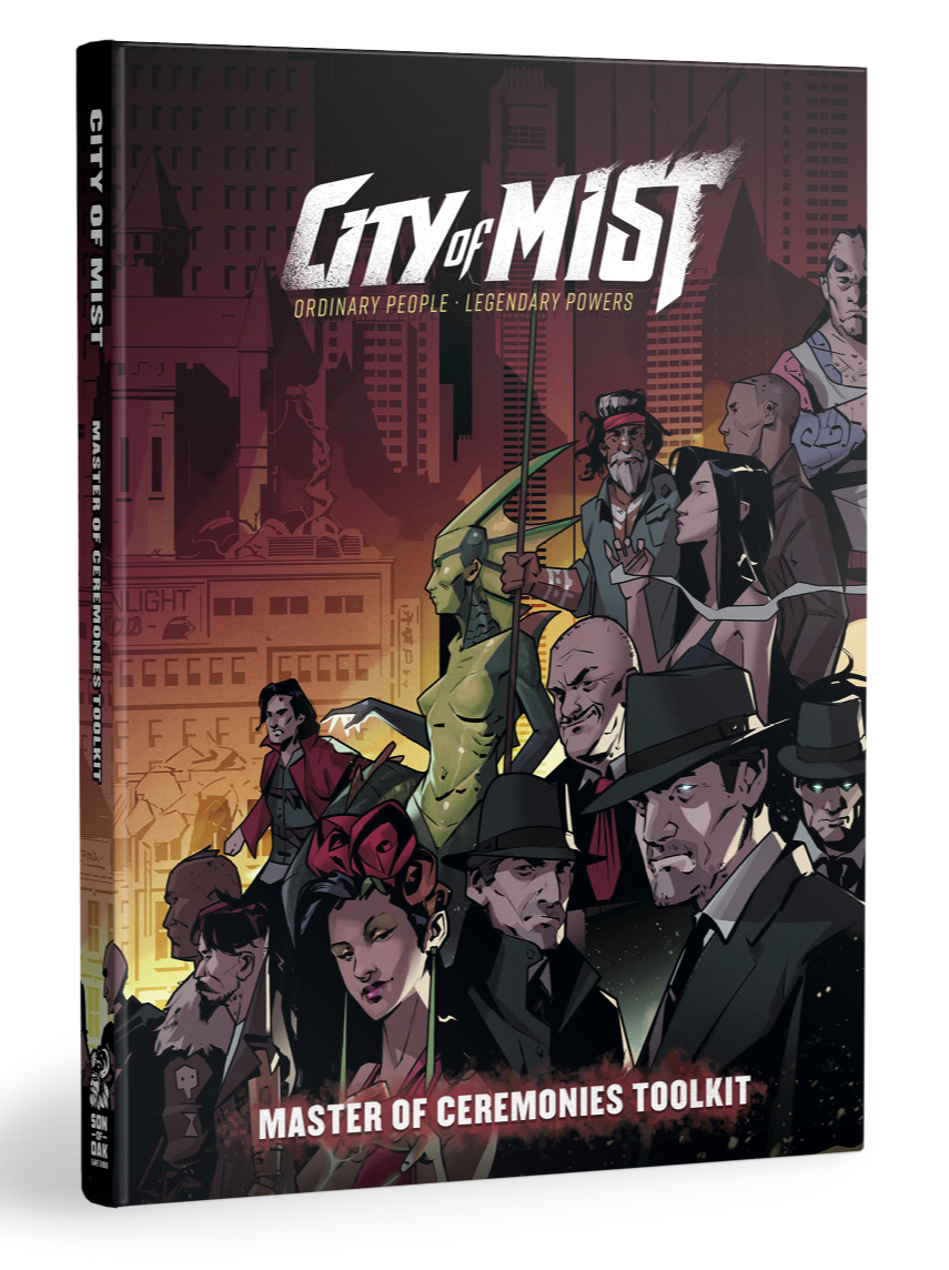 City of Mist RPG: Master of Ceremonies Toolkit