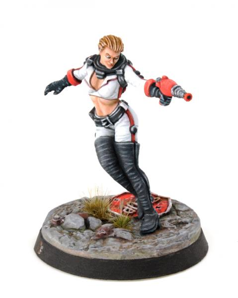 Fallout: Wasteland Warfare - Nuka Girl (Fallout Mini)