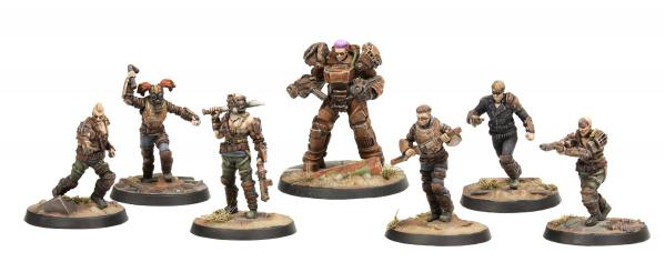 Fallout: Wasteland Warfare - Raiders Core Set  (Fallout Minis)