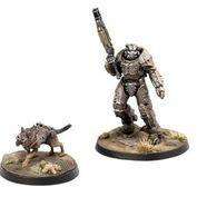 Fallout: Wasteland Warfare - X01 Survivor & Dogmeat (Fallout Minis)