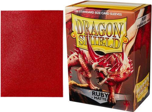 Dragon Shields: Standard Matte Ruby (100)