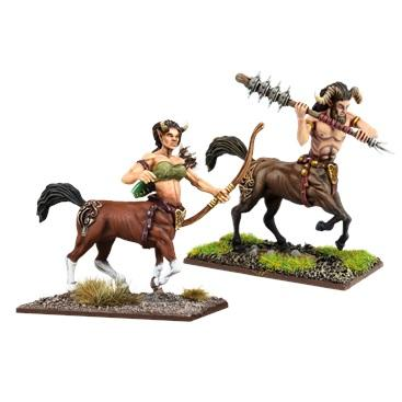 Kings of War Vanguard: Forces of Nature Centaurs