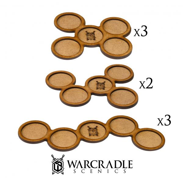 Skirmish Movement Trays: 30mm