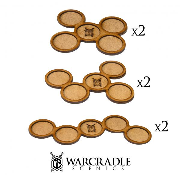 Skirmish Movement Trays: 32mm