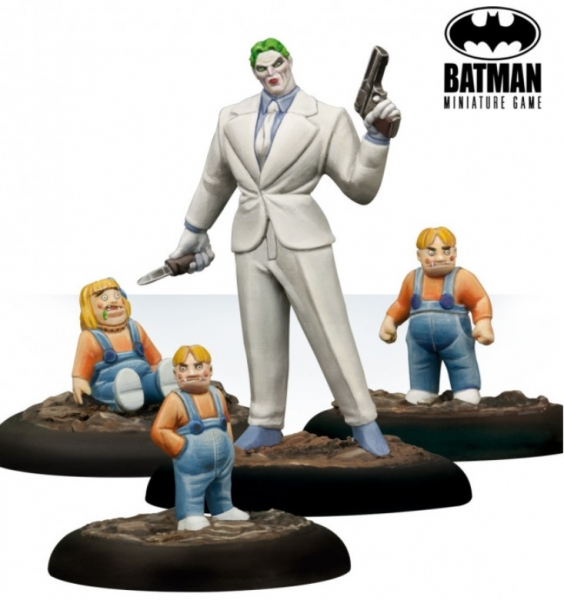 Batman Miniature Game: Joker and Robotic Dolls