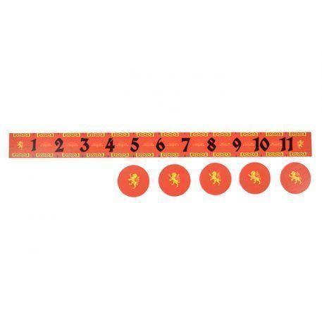 Game Accessory: Lion Measuring Ruler & Objectives