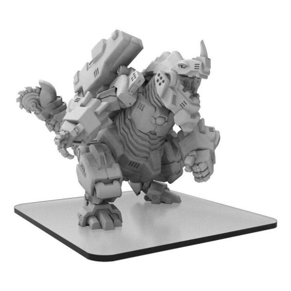 Monsterpocalypse: Cyber Khan – Uber Corp International Monster (metal/resin)