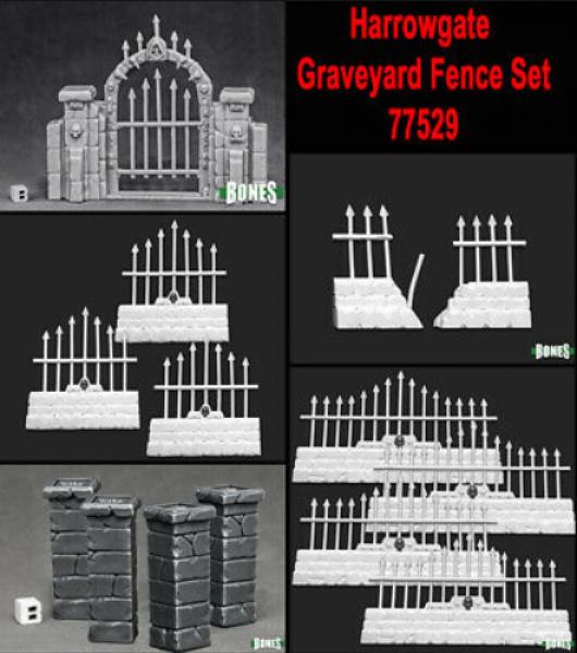 Reaper Bones: Harrowgate Graveyard Set