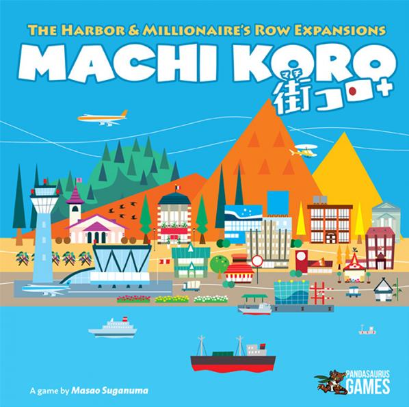 Machi Koro 5th Anniversary Edition Expansions