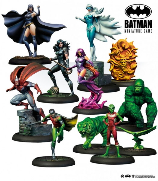 Batman Miniature Game: Teen Titans Bat Box Set