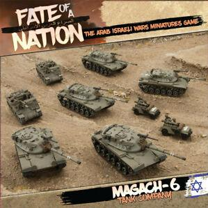 Flames of War - Fate of a Nation: Magach-6 TANK COMPANY Army Box