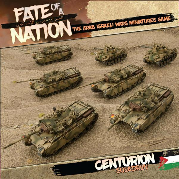 Flames of War - Fate of a Nation: Centurion Squadron Army Box