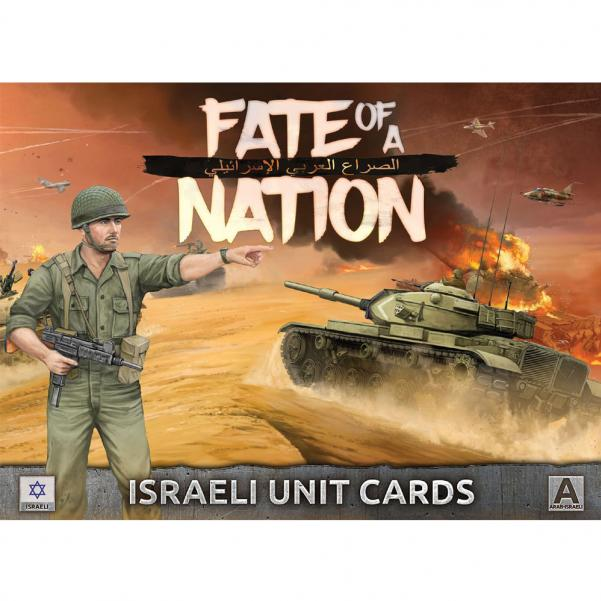 Flames of War - Fate of a Nation: Israeli Unit Cards