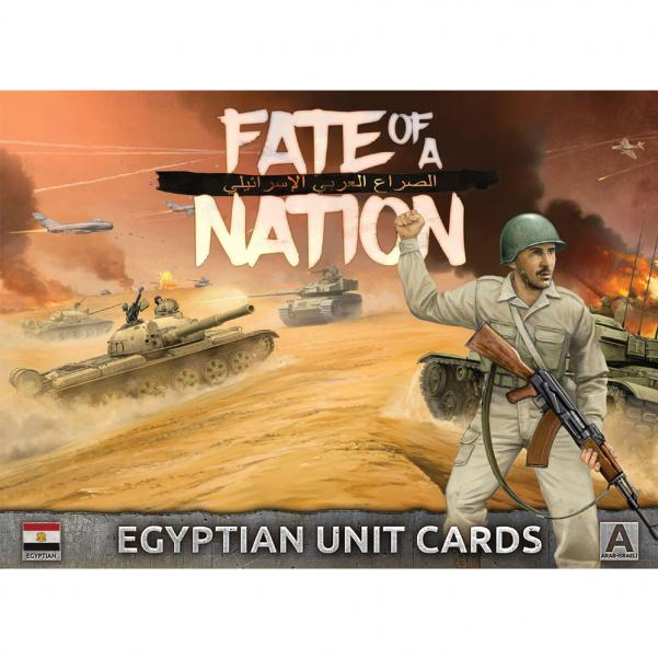 Flames of War - Fate of a Nation: Egyptian Unit Cards