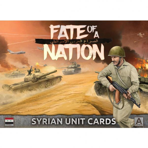 Flames of War - Fate of a Nation: Syrian Unit Cards