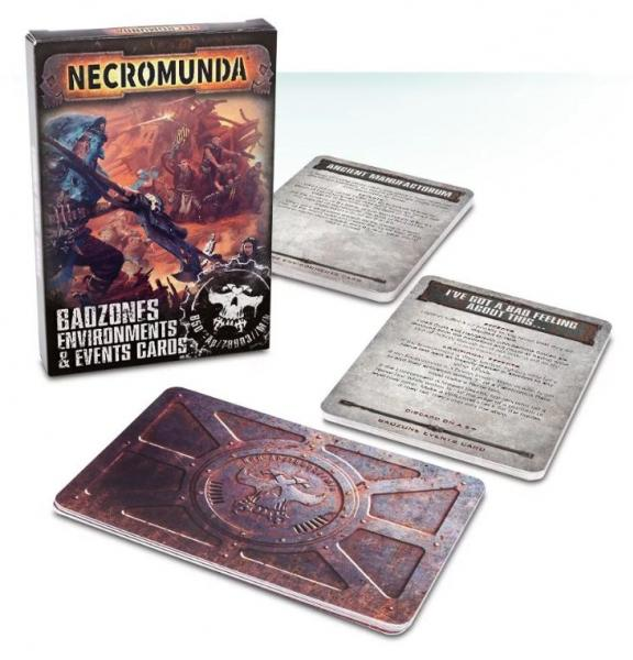 Necromunda: Badzones Environments Event Cards