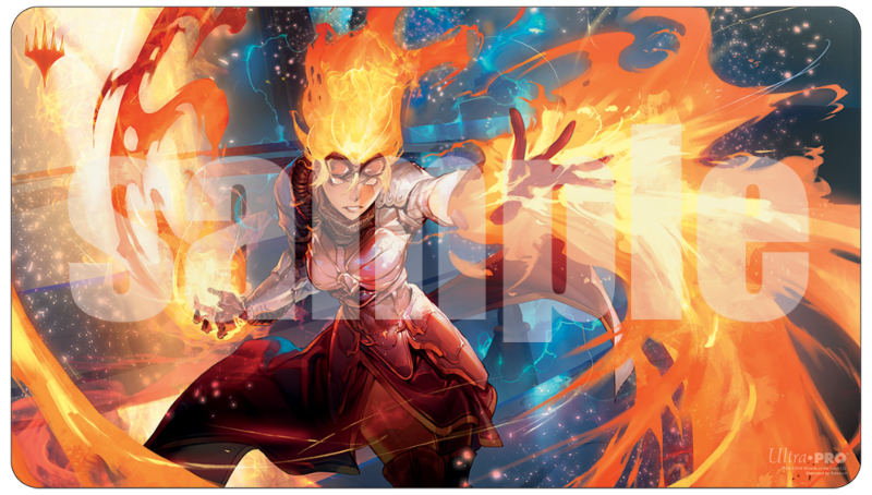 Ultra Pro: War of the Spark Alternate Art Playmat - Chandra for Magic: The Gathering