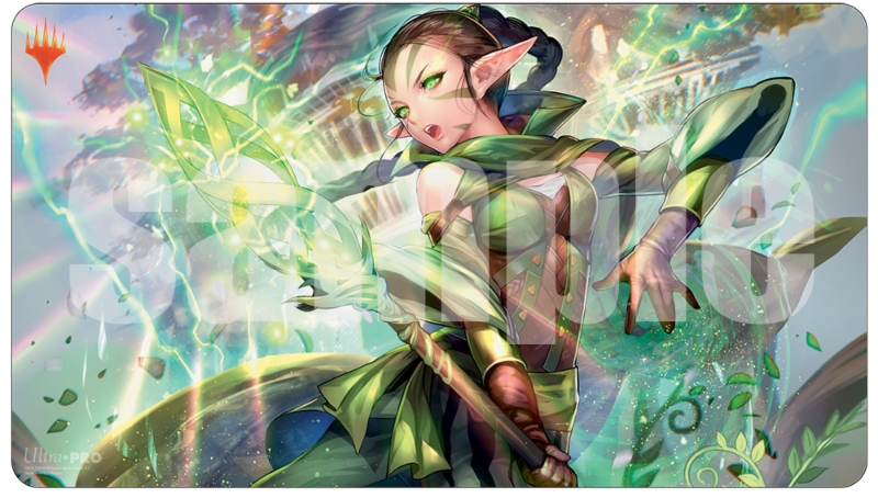 Ultra Pro: War of the Spark Alternate Art Playmat - Nessa for Magic: The Gathering