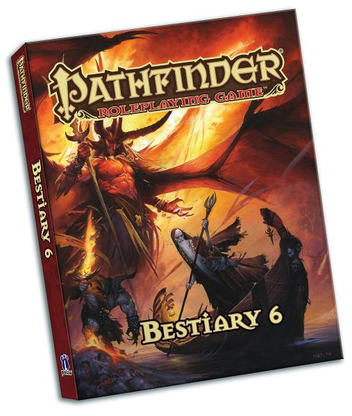 Pathfinder RPG: Bestiary 6 Pocket Edition