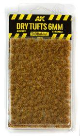 AK-Interactive: Vegetation (Tufts) - Dry Tufts 6mm