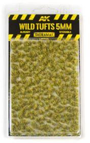 AK-Interactive: Vegetation (Tufts) - Wild Tufts 5mm