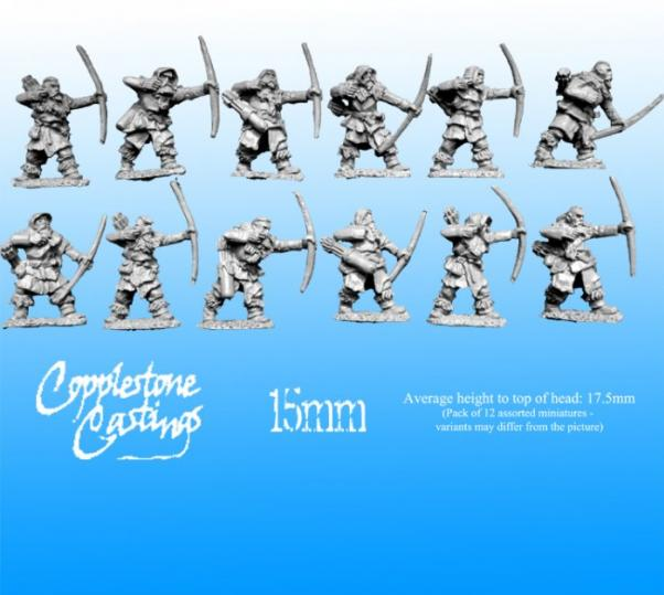 15mm Barbarica Fantasy: Ice Tribe Archers