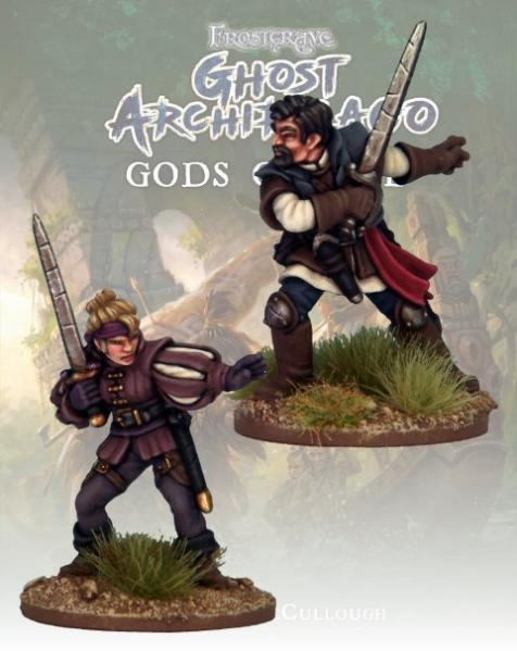 Frostgrave: Ghost Archipelago Swordmasters