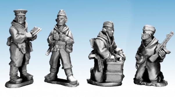 28mm World War II: (Soviet) Soviet Scout Command
