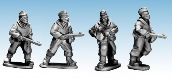 28mm World War II: (Soviet) Soviet Scouts with SMG