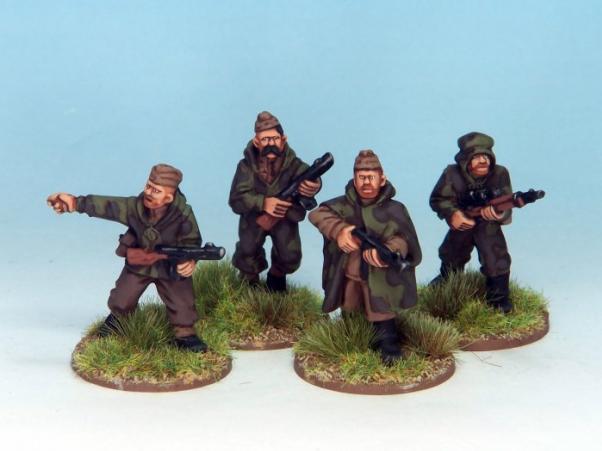 28mm World War II: (Soviet) Soviet Scouts