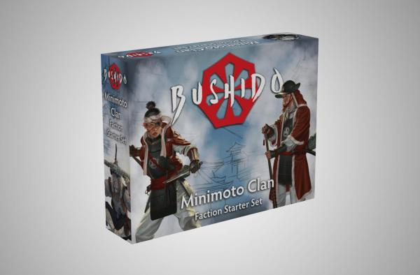 Bushido, Risen Sun: Minimoto Clan Starter Set