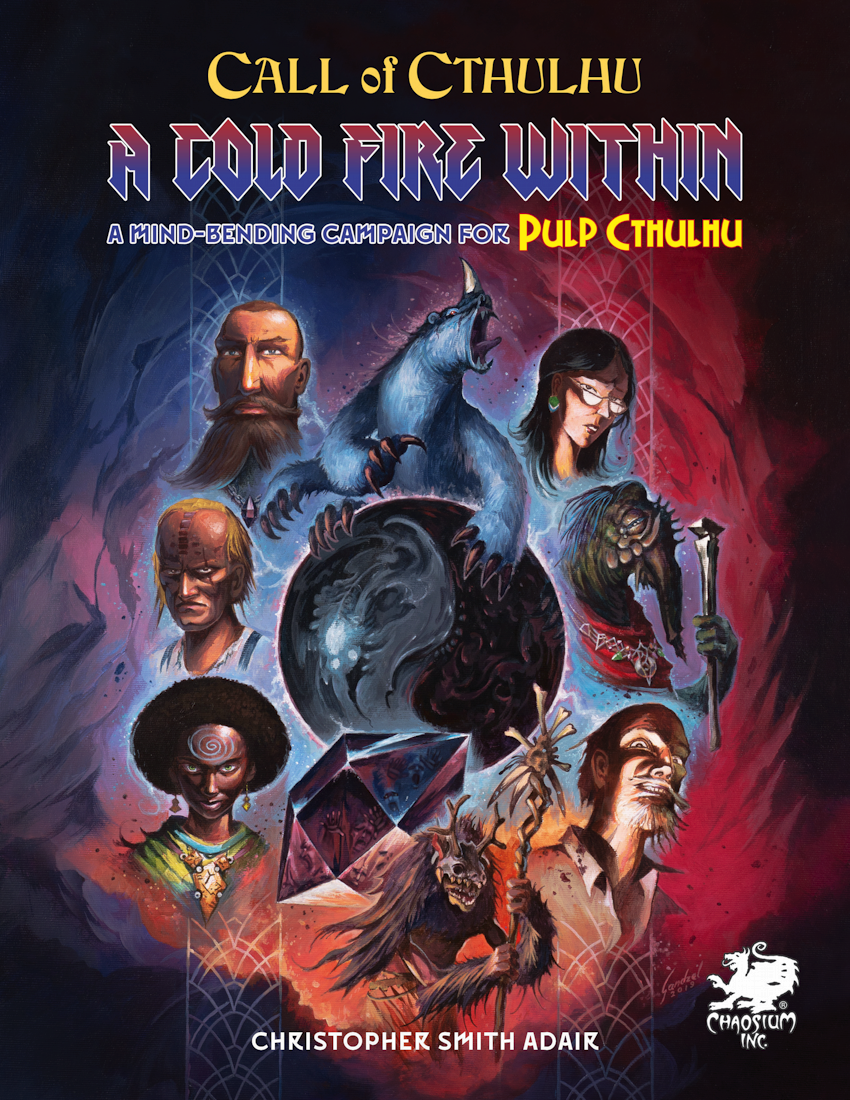 Pulp Cthulhu: A Cold Fire Within (HC)